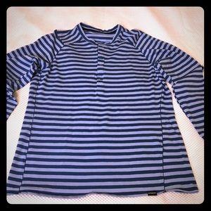 Patagonia Men's Stripe long sleeve shirt, Size S